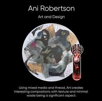 Ani Robertson, Artist/Designer.
