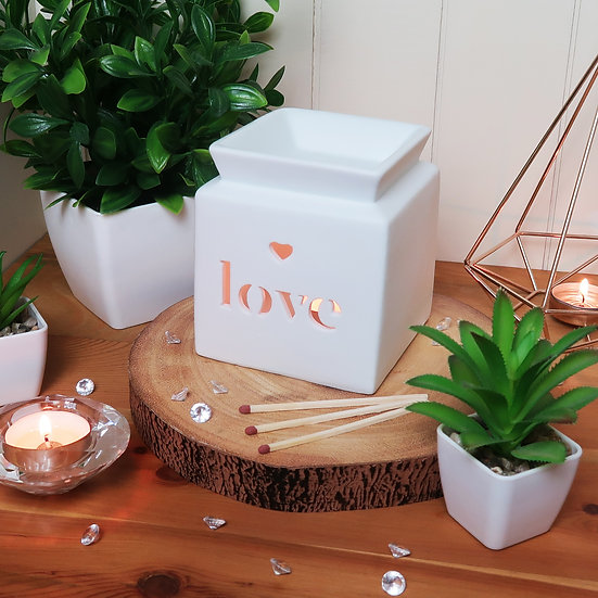 Luxury Love Soy Wax Melt Gift Set - Personalised - Choose your Scents