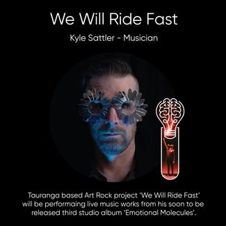Kyle Sattler (We Will Ride Fast), Musician & Artist.