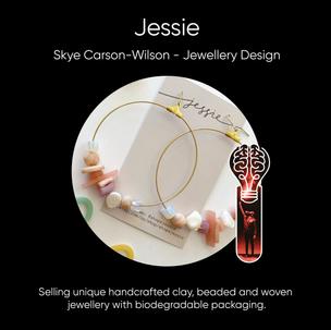 Skye Carson-Wilson (Jessie), Jewellery Design.