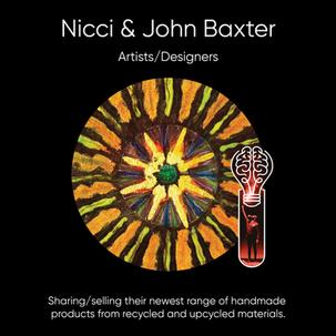 Nicci & John Baxter (White Picket Fence), Art, Photography, & Wooden Decor.
