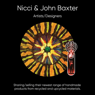 Nicci & John Baxter (White Picket Fence), Art, Photography, & Wooden Decor.
