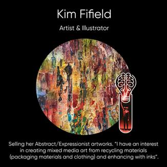 Kim Fifield, Artist and Illustrator.