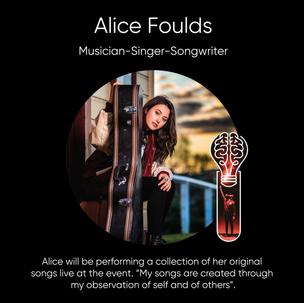 Alice Foulds, Musician-Singer-Songwriter.