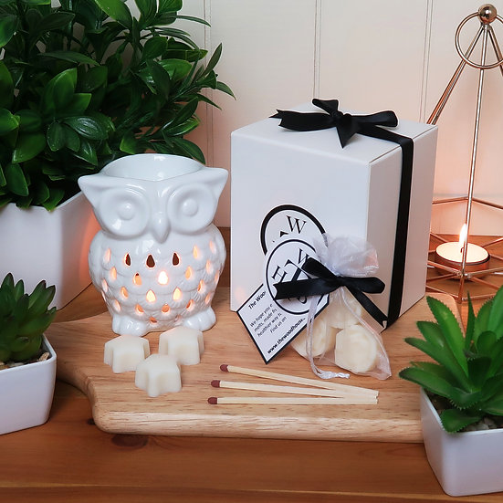 Luxury Owl Wax Melt Gift Set - Choose Your Scents