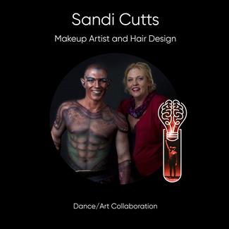 Sandi Cutts, Hair Designer & Body Painter.