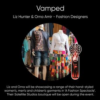Liz Hunter & Orna Amir (Vamped), Fashion Designers.