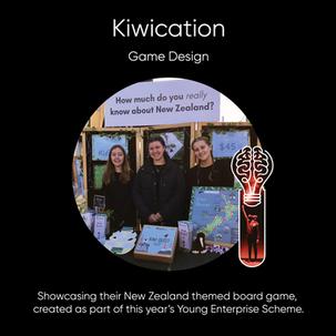 Kiwication, Game Design.