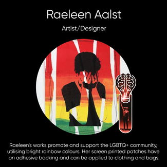 Raeleen Aalst, Artist and Designer.