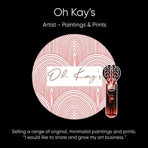 Kodi Fairhurst (Oh Kay's), Artist - Paintings & Prints.
