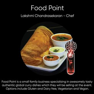 Food Point - Lakshmi Chandrasekaran, Chef.