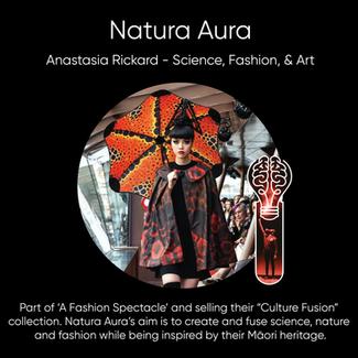 Anastasia Rickard (Natura Aura) - Science, Fashion, & Art.