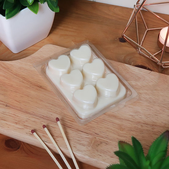 Luxury Heart Soy Wax Melts - Highly Scented