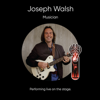 Joseph Walsh, Musician.