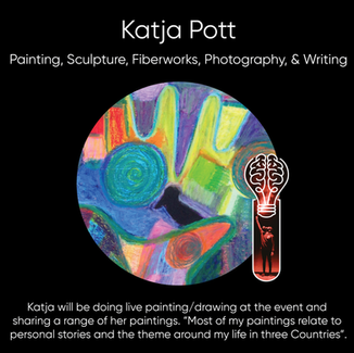 Katja Pott - Painting, Sculpture, Fiberworks, Photography, & Writing.
