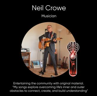 Neil Crowe, Musician.