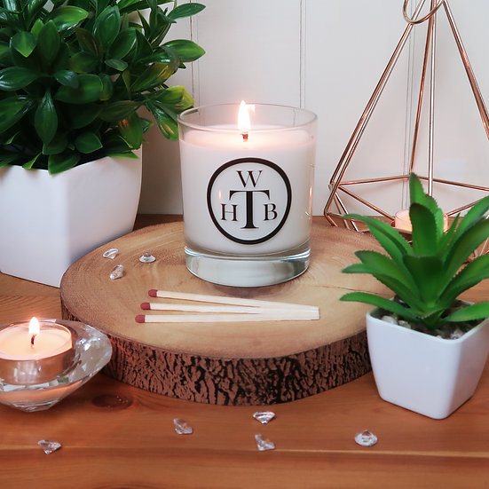Unscented Soy Candle & Gift Box
