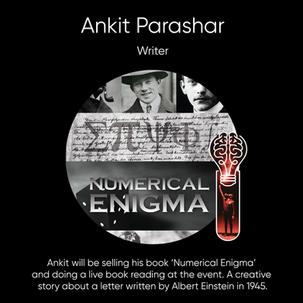 Ankit Parashar, Writer.