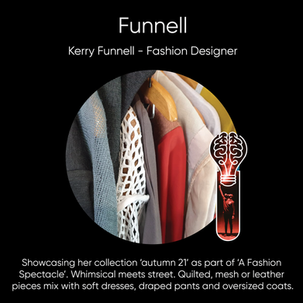 Kerry Funnell (Funnell Design), Fashion Designer.