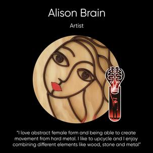 Alison Brain, Artist.