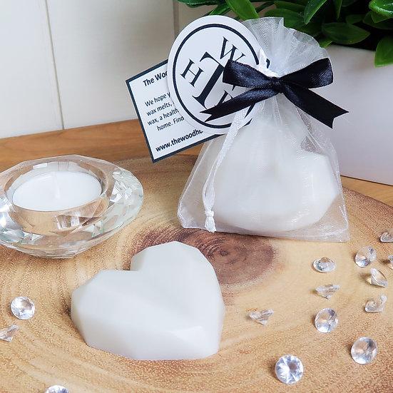 Personalised Wax Melts - Diamond Heart
