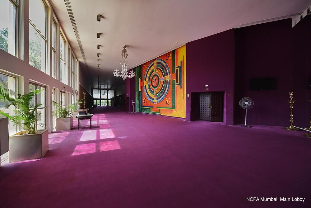 Carpets for the NCPA Lobby, Mumbai