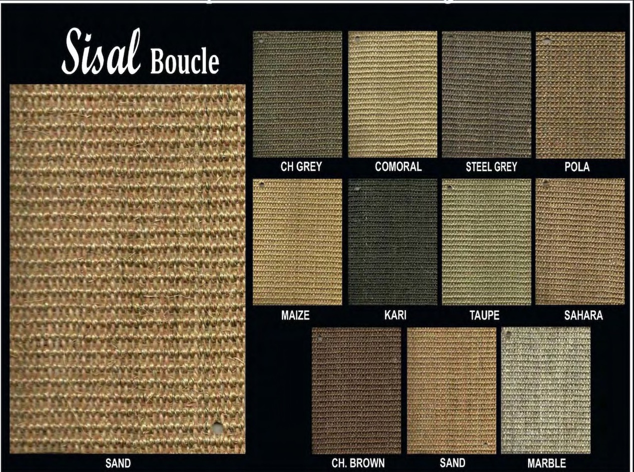 Sisal Boucle Shade Card