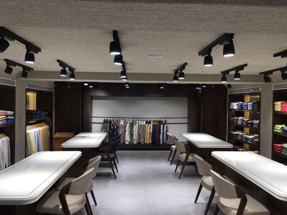 Sisal Carpet Ceiling Installation