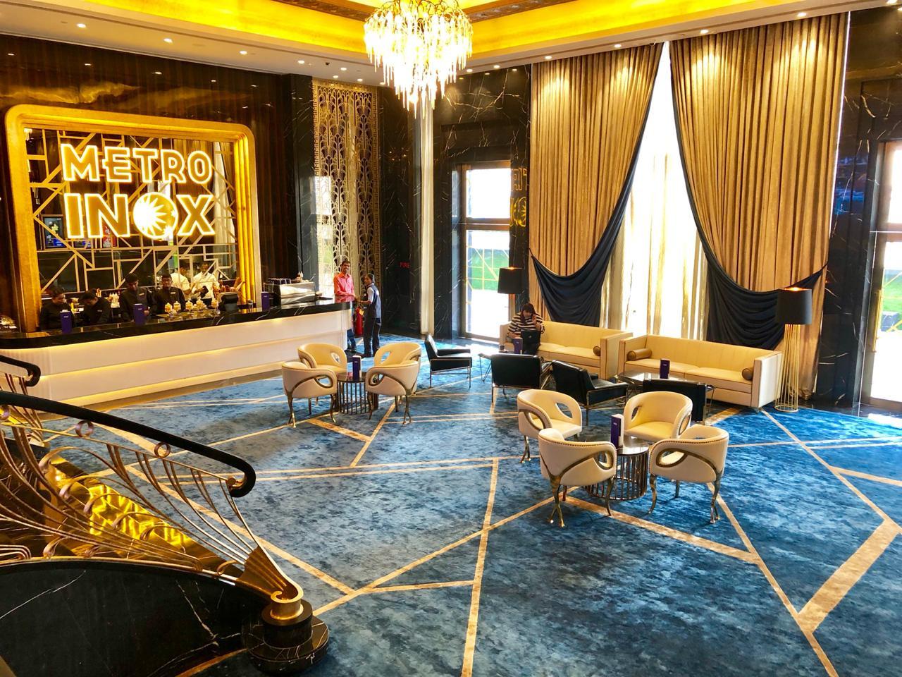 Carpets at Inox Metro Cinema, Mumbai