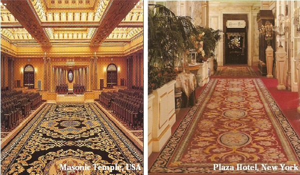 Masonic Temple & The Plaza Hotel, New York