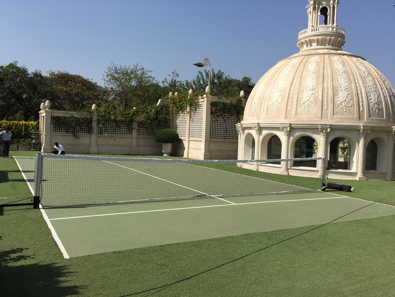 Tennis Court with Artificial Bermuda Grass