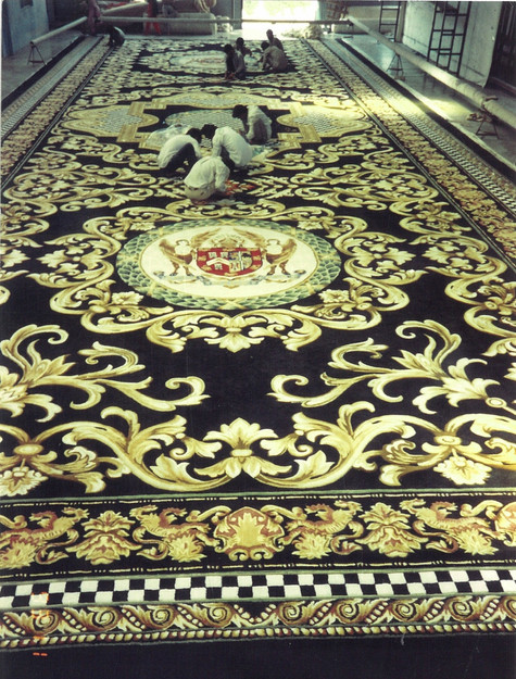 Custom Made Carpet for the Masonic Temple in the USA