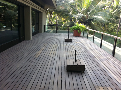 Outdoor Decking Wood