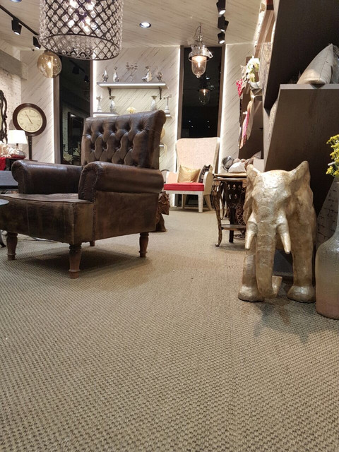 Sisal wall to wall carpet
