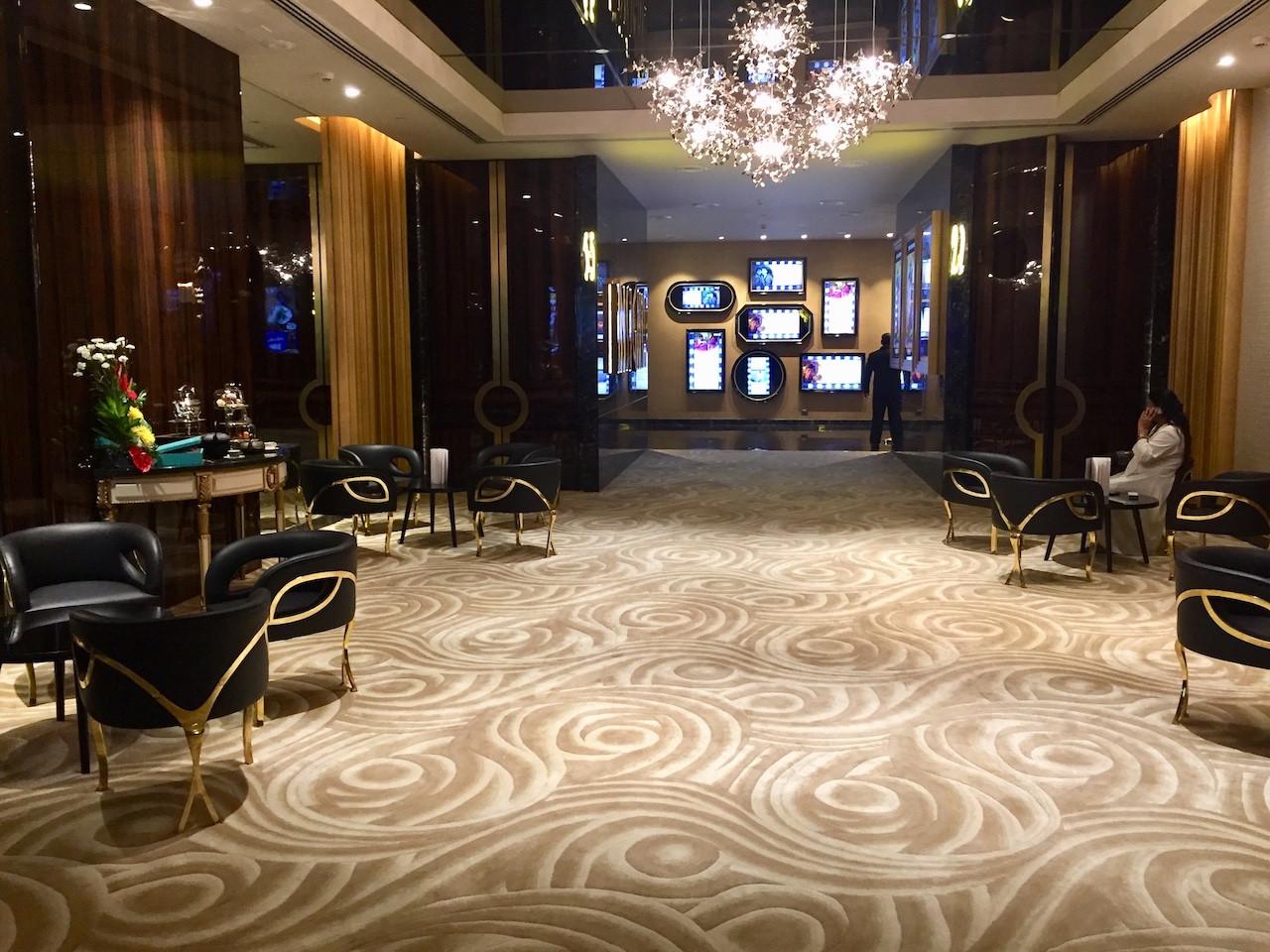 INOX Insignia Worli, Custom Hand Made Carpets