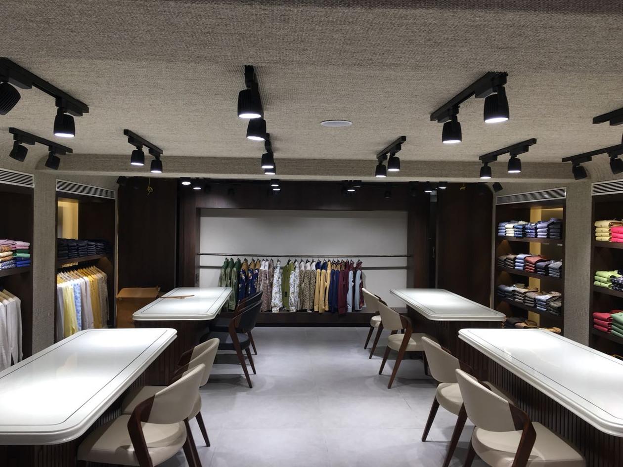 Sisal Carpet - Ceiling of Baroda Retail Store