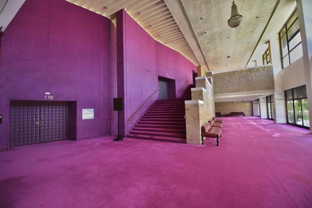 NCPA - Walls and Lobby