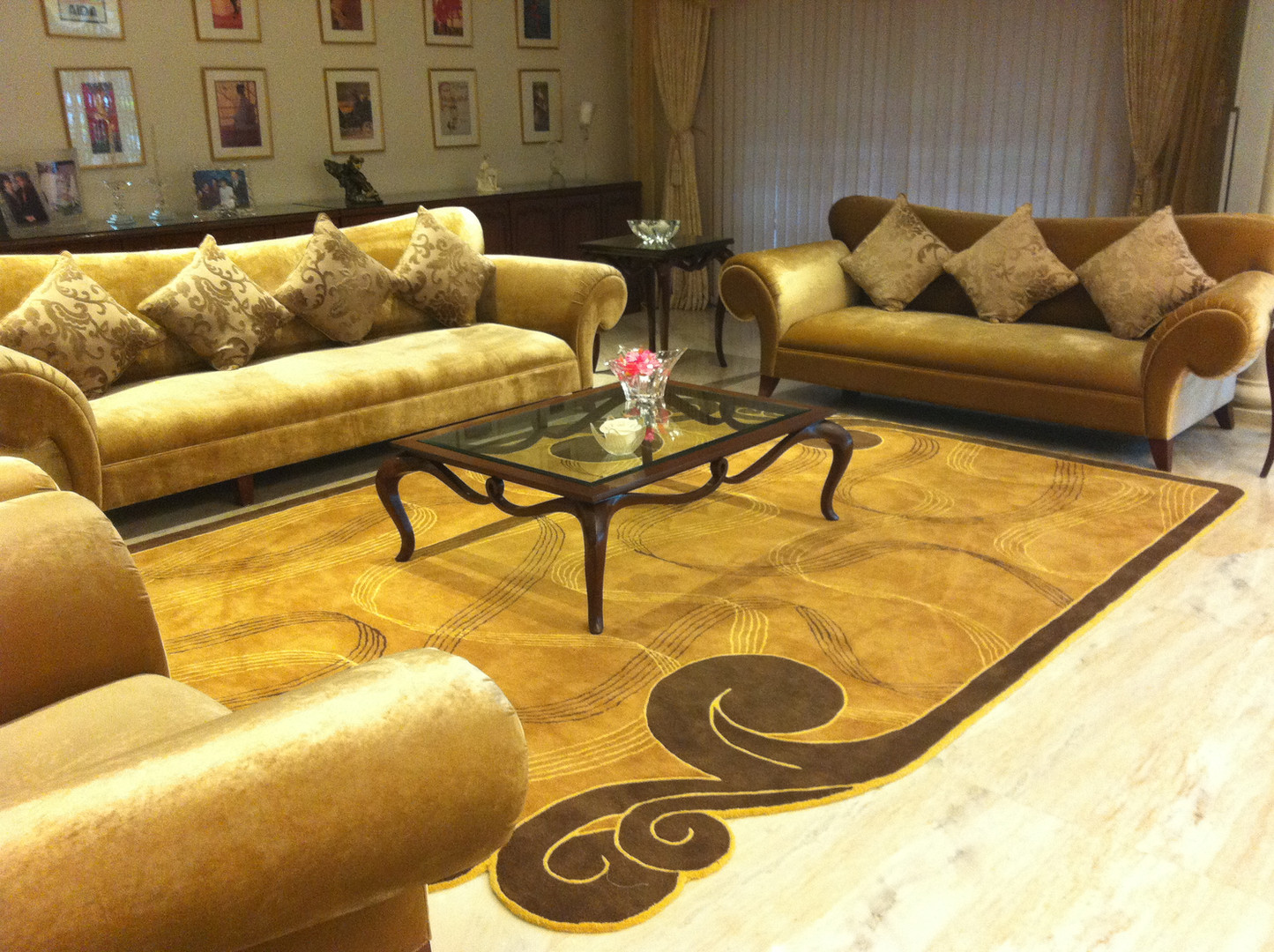 Hanf Tufted Carpet for a Musician in Pune