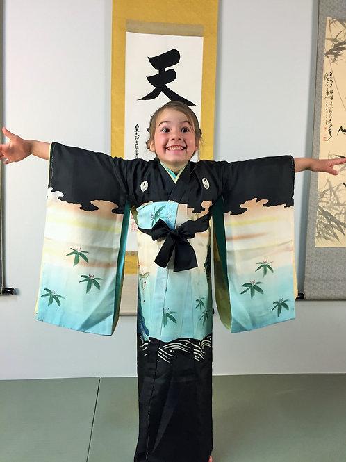 Kids Japanese Kimono&Haori&Juban (#003)