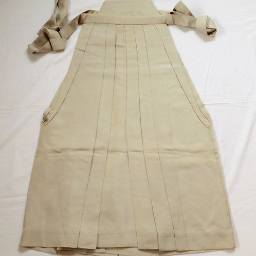 Japanese HAKAMA, UMANORI, Light beige #0518