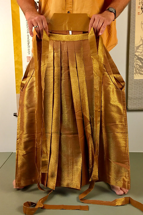EMBUHAKAMA UMANORI (PANTS TYPE) /VINTAGE EMBU GOLD#0507