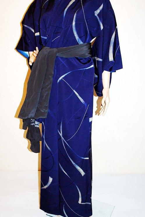 Japanese Kimono silk robe wedding/honeymoon dress