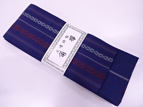 NEW! MEN'S KAKU OBI / KENJO PATTERN / MADE IN JAPAN #1215