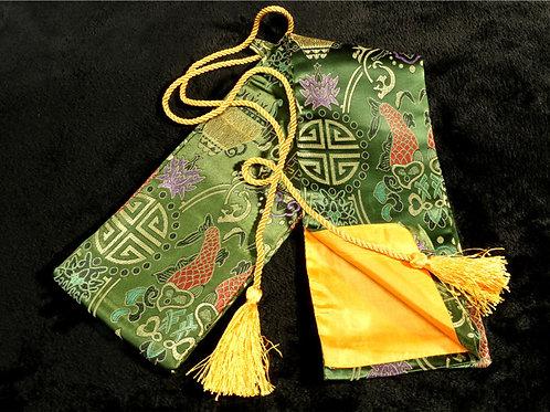 Silk bag for KATANA/IAITO JAPANESE SWORD #0172