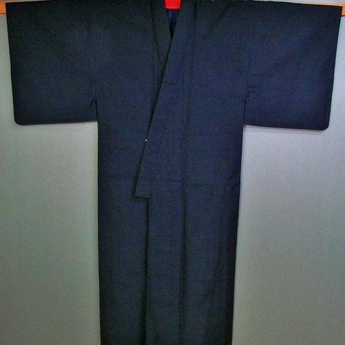 Japanese Budoka kimono dark blue #025