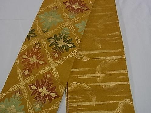 Japanese Kimono Yukata Hanhaba Obi #0137