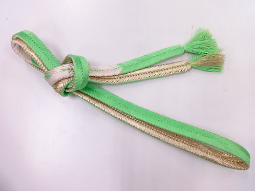 JAPANESE VINTAGE HAND-TIED OBIJIME CORD #0181