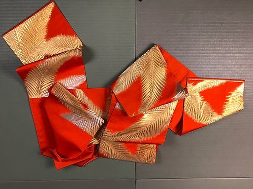 JAPANESEVINTAGE FUKURO OBI #1228