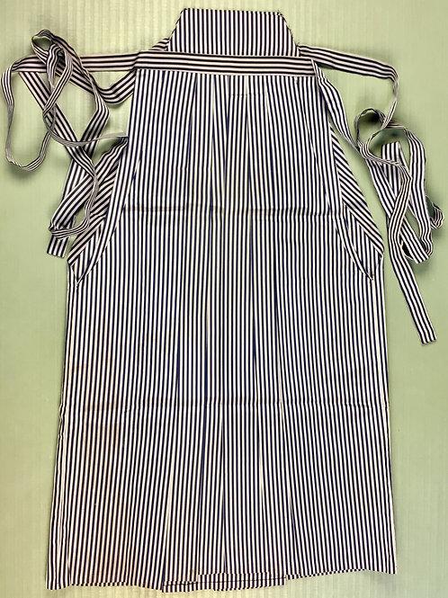 SAMURAI Bu-jutsu HAKAMA (Andon) / Grey/Navy Stripe #0545