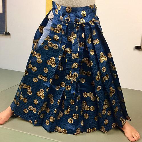 JAPANESEBOY/GIRL'S ANDON HAKAMA (type) / WOVEN KIKKO & FLOWER#0531